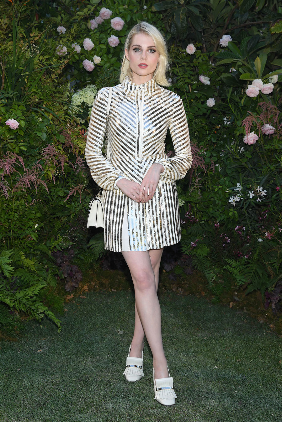 Apasionada de la moda - El estilo de Lucy Boynton
