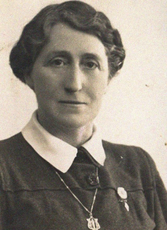 Retrato de Dolores Baleztena Ascárate, nacida en Leiza (Navarra) en 1895.