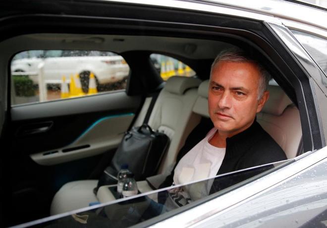 Jose Mourinho, tras ser despedido del Manchester United.