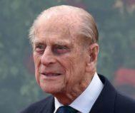 El duque de Edimburgo, el príncipe Felipe, durante el espectáculo ecuestre real de Windsor.