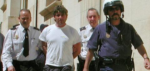 José Javier Salvador Calvo, detenido hace 15 años.