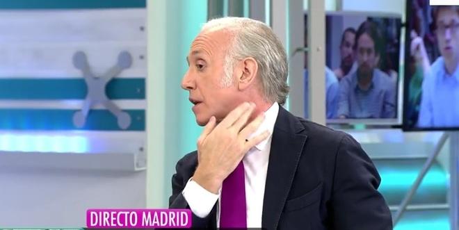 """Eduardo Inda denuncia una agresión en Telecinco antes de El programa de Ana Rosa: """"Voy a denunciar""""."""