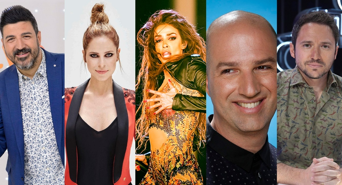 Tony Aguilar, Pastora Soler, Eleni Foureira, Doron Medalie y Manuel Martos estarán en la gala de Eurovisión 2019