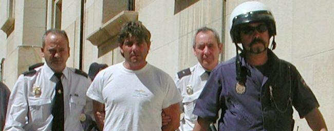 José Javier Salvador, detenido por su primer crimen.