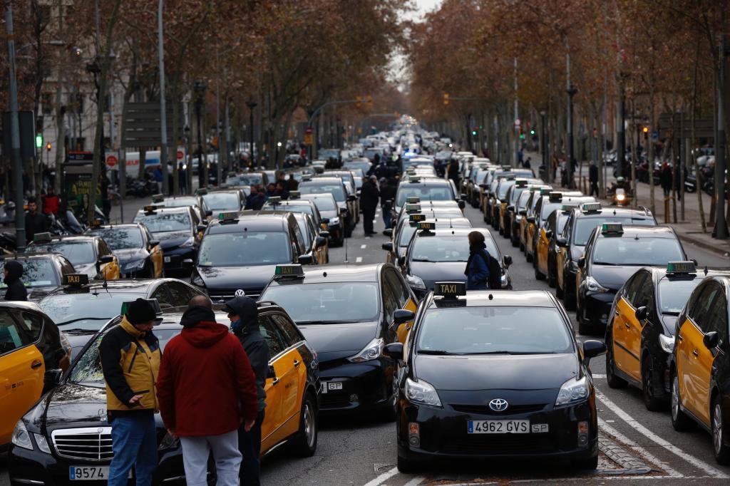 Jordi Soteras Catalunya Barcelona 18/01/2019 Concentracion de protesta...