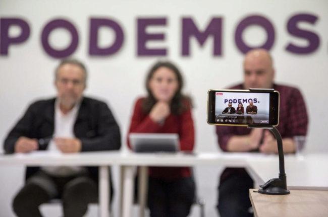 Madrid, la punta del iceberg de los conflictos de Podemos