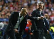 Ancelotti y Zidane, en la mítica imagen de la final de la Champions de 2014.