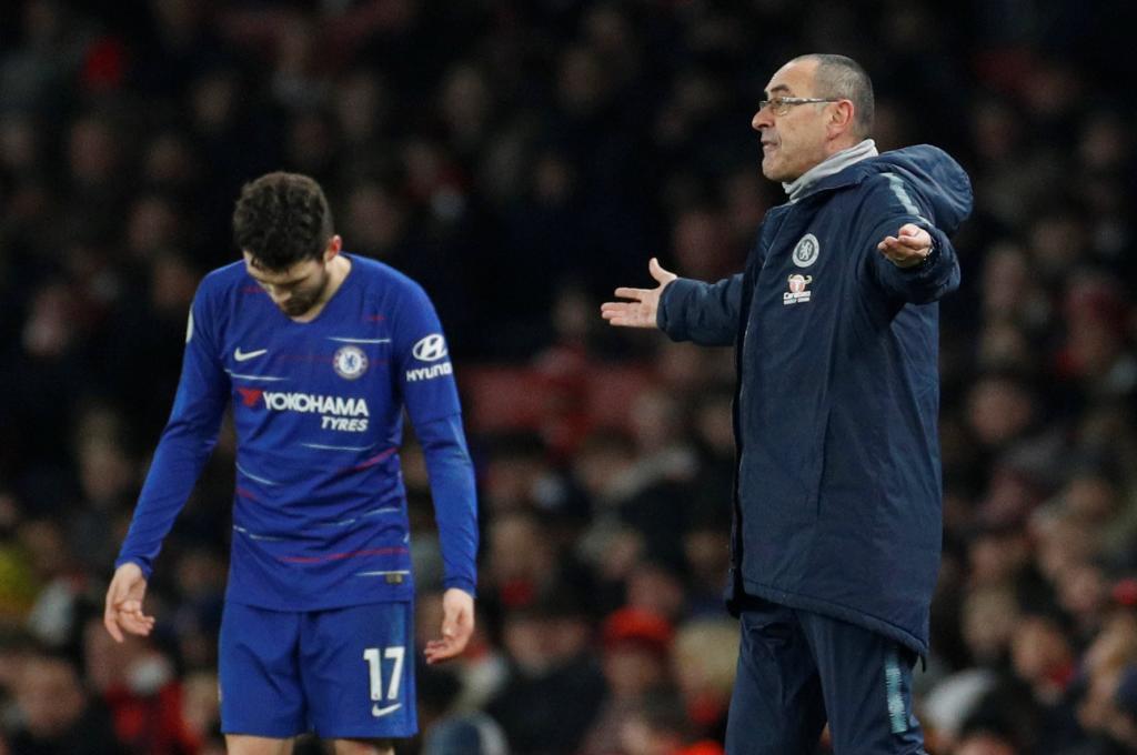"La derrota del Chelsea desata la furia de Sarri: ""Tengo unos futbolistas difíciles de motivar"""