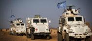Contingente de la ONU en el norte de Mali.