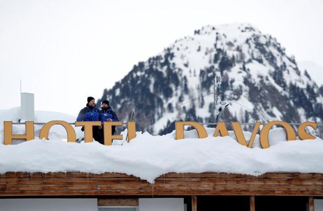 Inauguración del foro económico de Davos