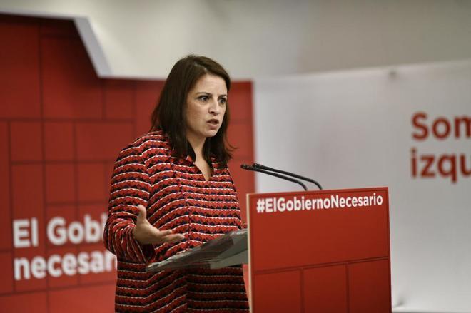 La vicesecretaria general y portavoz del Grupo Parlamentario Socialista en  el Congreso 1e0bffcae3d