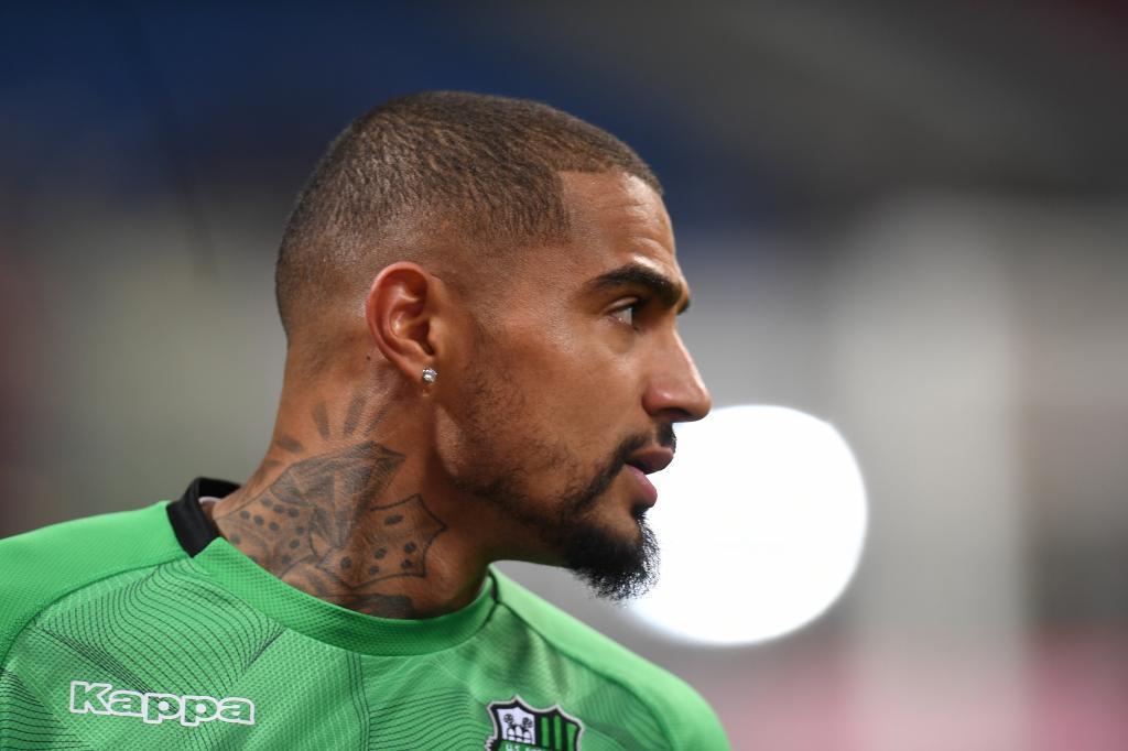 Soccer Football - Serie A - Inter Milan v U.S Sassuolo - San Siro, Milan, Italy - January 19, 2019 Sassuolo's Kevin-Prince Boateng before the match REUTERS/Daniele Mascolo