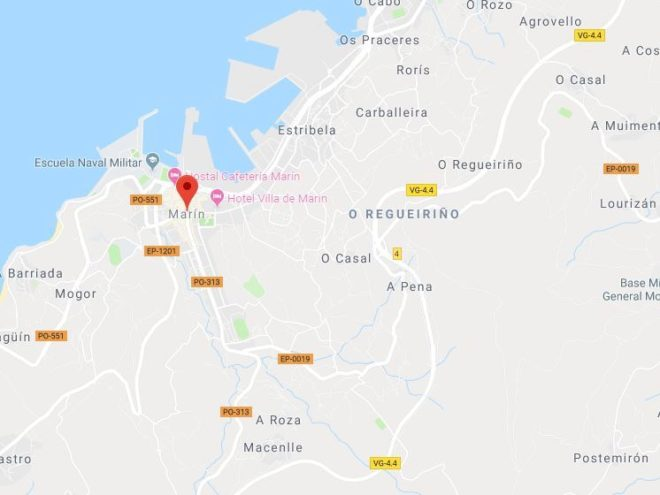 Detenido un hombre en Pontevedra por agredir a su pareja y llevarse a la fuerza a su hijo pequeño