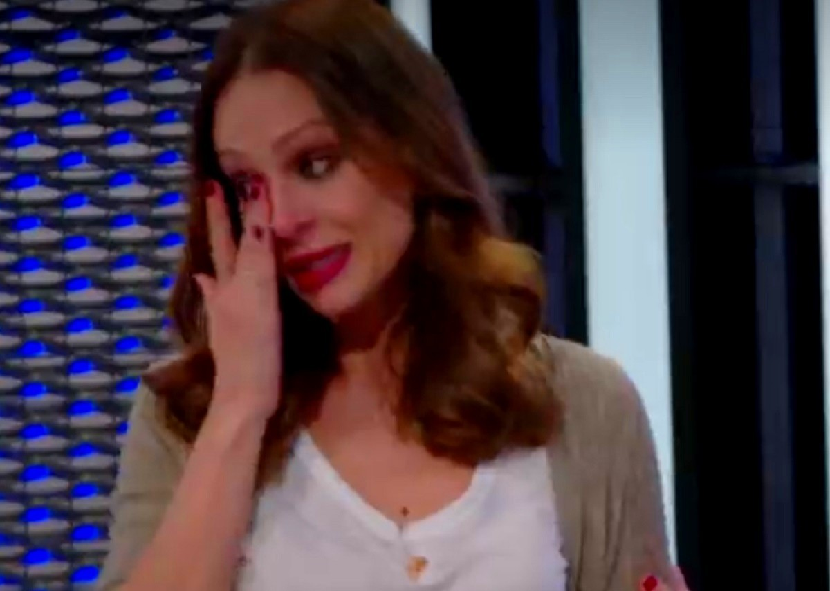 Eva González se emocionó por primera vez en La Voz