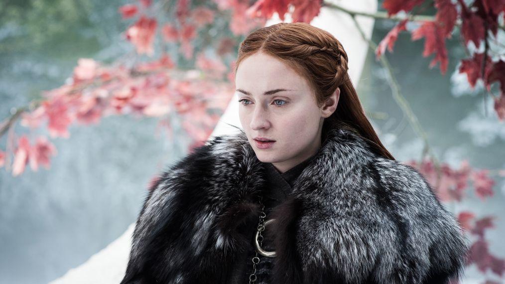 Sophie Turner como Sansa Stark en Juego de Tronos