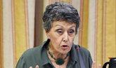 La administradora provisional única de la corporación RTVE, Rosa...