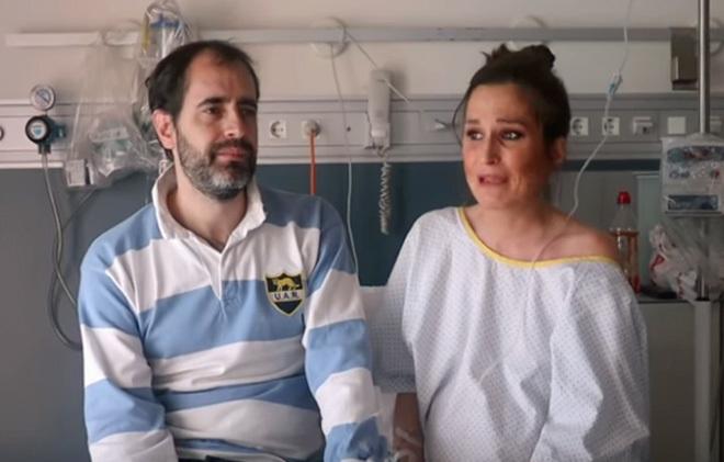 Verdeliss y su marido Aritz en el vídeo donde explican lo sucedido.