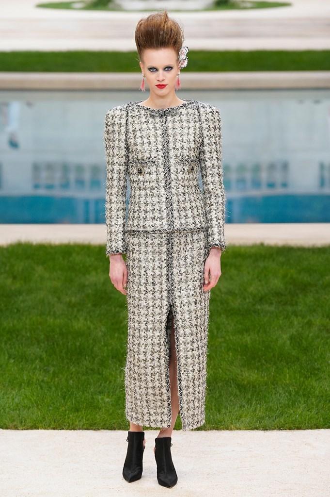 Desfile primavera-verano 2019 de Chanel - Semana de la Alta Costura de...