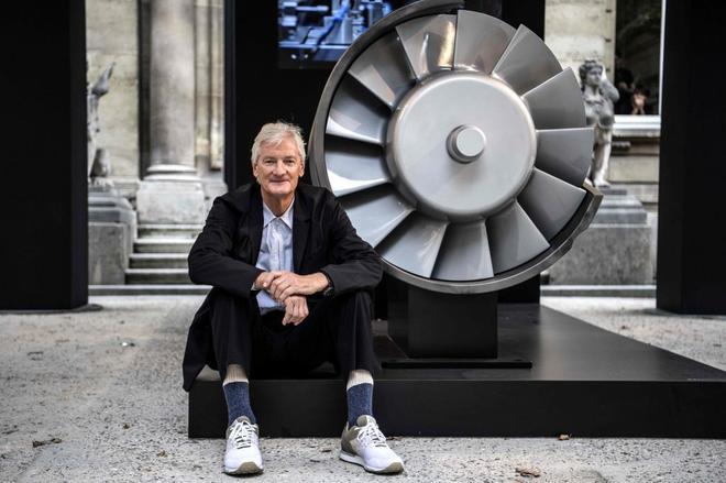 El multimillonario y fundador de Dyson, James Dyson.