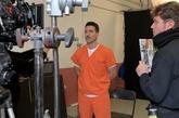 Imagen del rodaje de En el corredor de la muerte