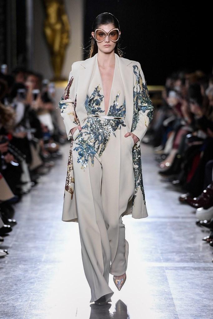 Desfile de Elie Saab - Semana de la Alta Costura de París - Primavera-verano 2019