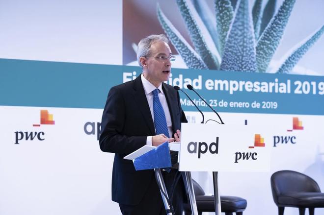 El presidente de la Agencia Tributaria, Jesús Gascón.