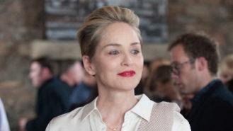 Sharon Stone, a la series ' Mosaic '.