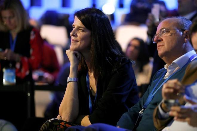 La ex candidata del PP cántabro, Ruth Beitia, en la Convención Nacional del partido
