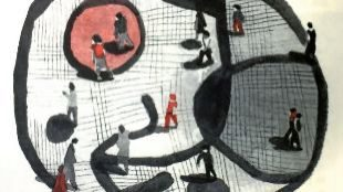 El mosaico de Miró de Las Ramblas, ilustrado por Pau Gasol Valls.