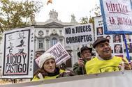 Manifestación contra la sentencia de las hipotecas dictada por el Supremo en octubre