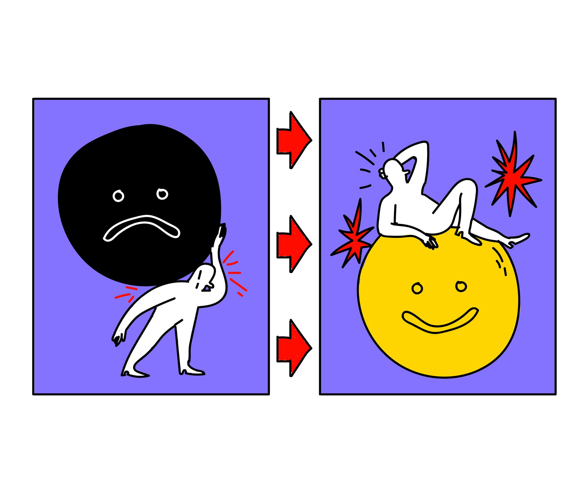 La vida después de superar una depresión