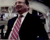Janio Lescure, abogado panameño, en el restaurante español donde se sentó con el espía.