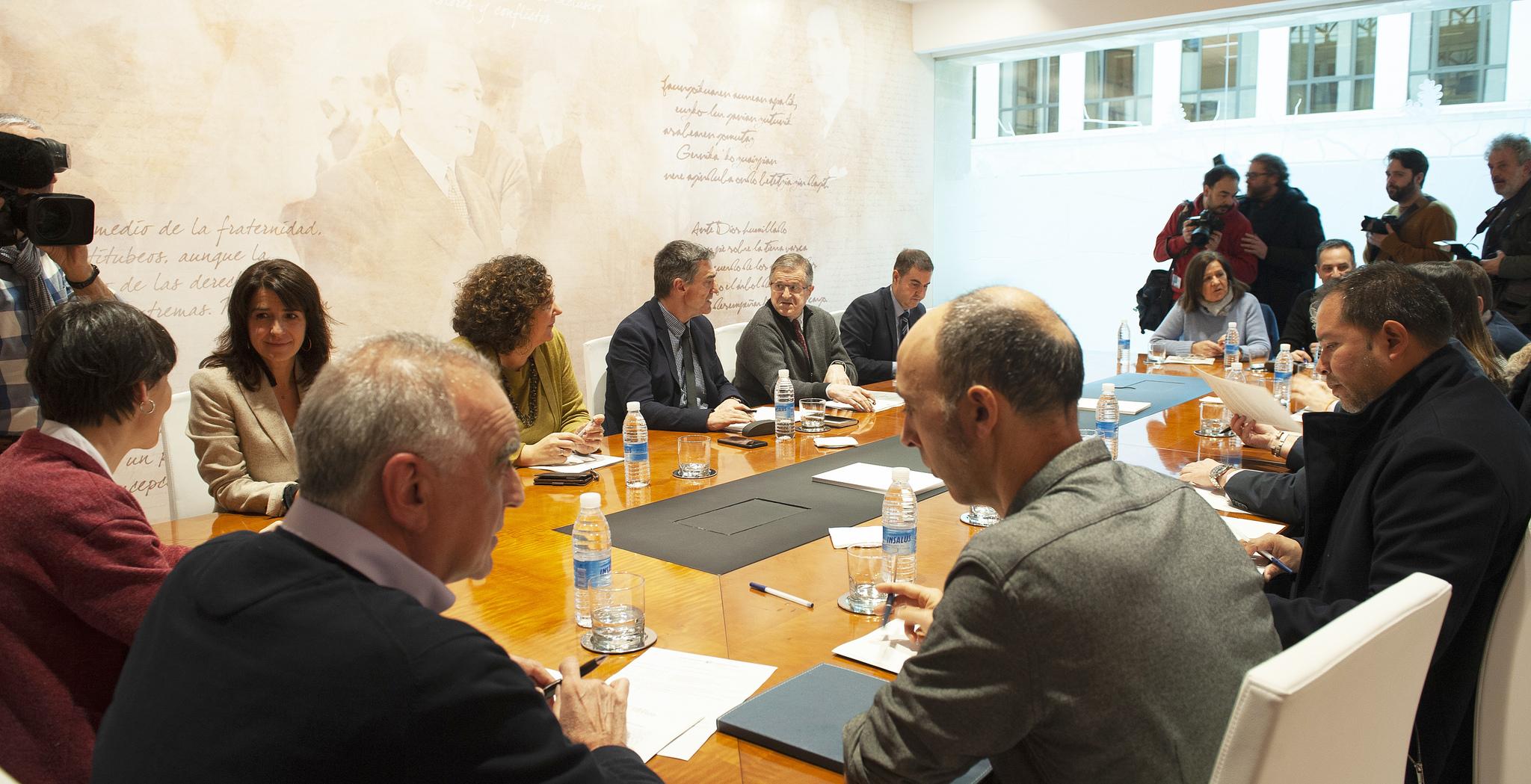 Reunión del Consejo de Participación de Víctimas del Terrorismo.