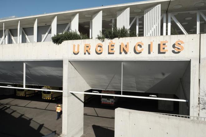 Instalaciones del servicio de urgencias en el Hospital del Mar de Barcelona.