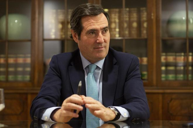 Antonio Garamendi,presidente de CEOE desde el pasado 21 de noviembre.