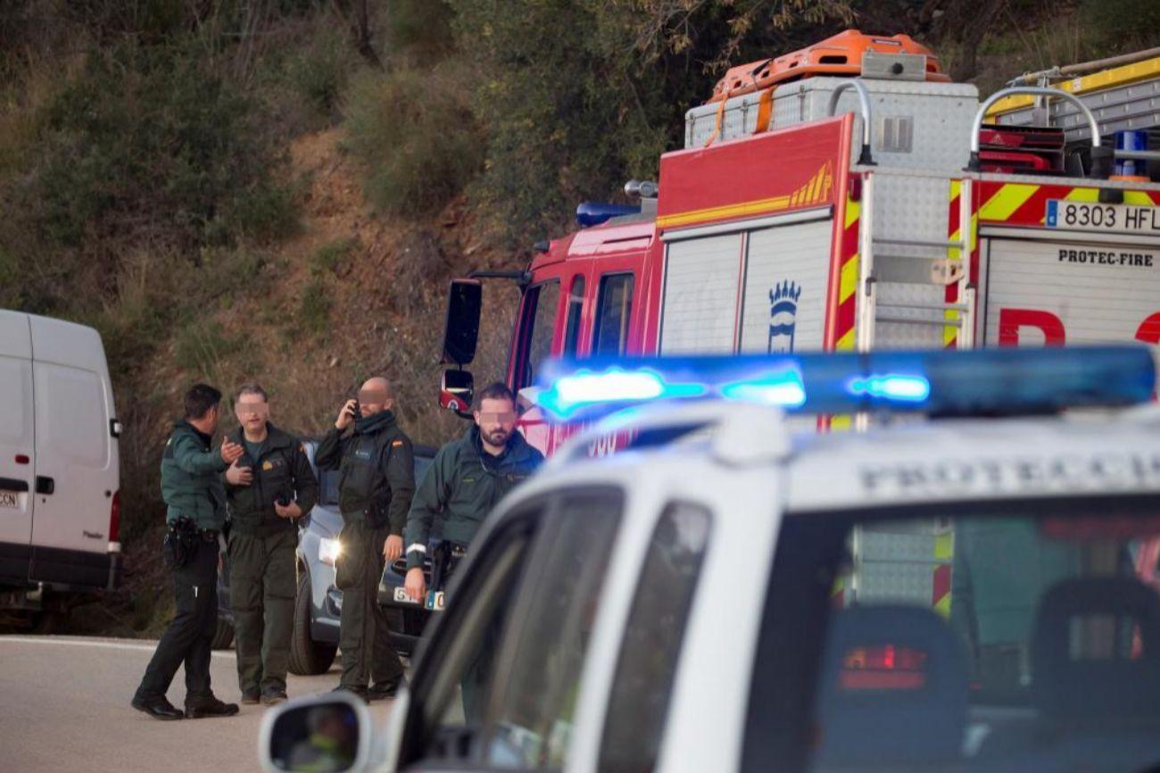 El domingo 13 de enero se conocía que un niño de dos años había caído a un pozo de 150 metros de profundidad en la localidad malagueña de Totalán, y comienzan las labores de rescate.