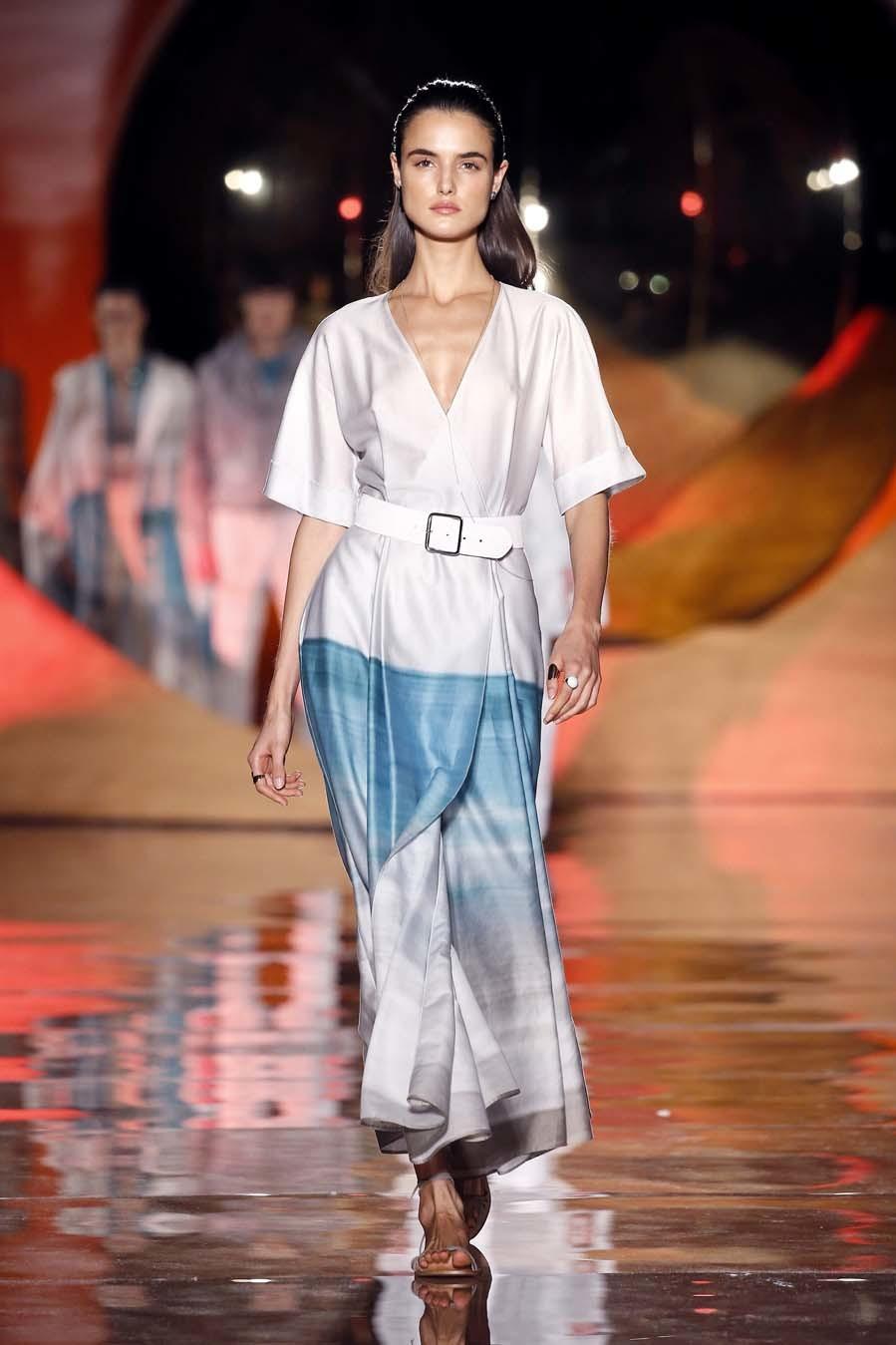 Desfile Pedro del Hierro - Mercedes-Benz Fashion Week Madrid -...