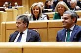 El portavoz del PP en el Senado, Ignacio Cosidó, durante la sesión...