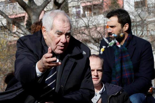 El candidato de ERC a la Alcaldía de Barcelona, Ernest Maragall.