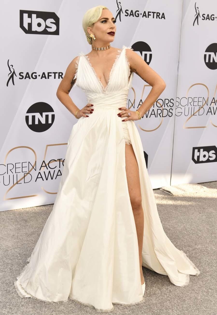 Lady Gaga ha dado, una vez más, una lección de divismo sobre la...