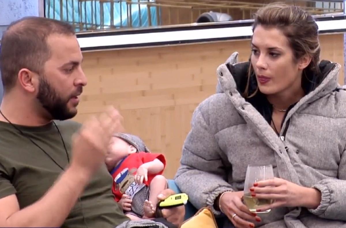 Antonio Tejado y Candela Acevedo discuten en GH Dúo por una...