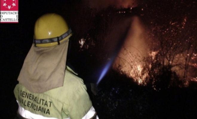 El año 2012 comenzó especialmente virulento en materia de incendios forestales en la Sierra de Espadán.