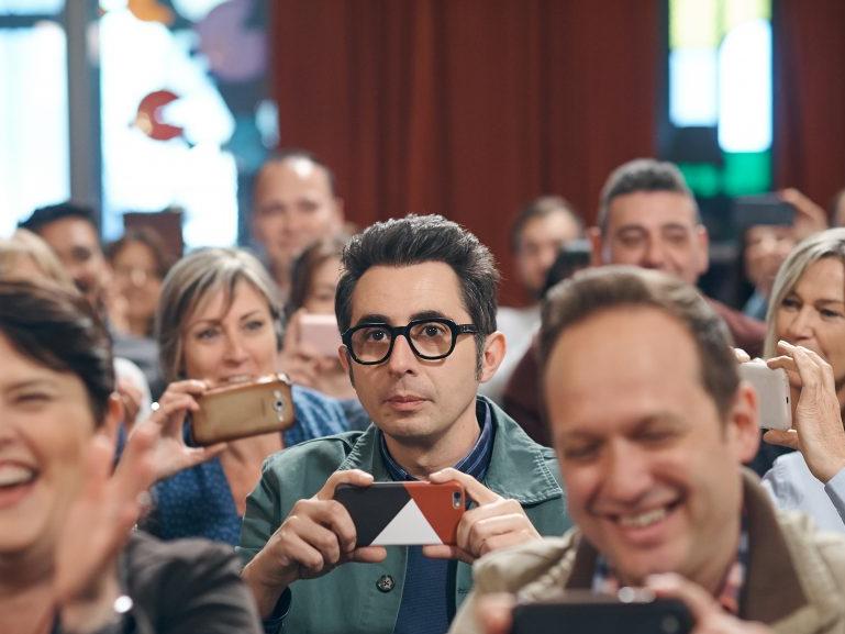Berto Romero en la segunda temporada de la serie Mira lo que has hecho