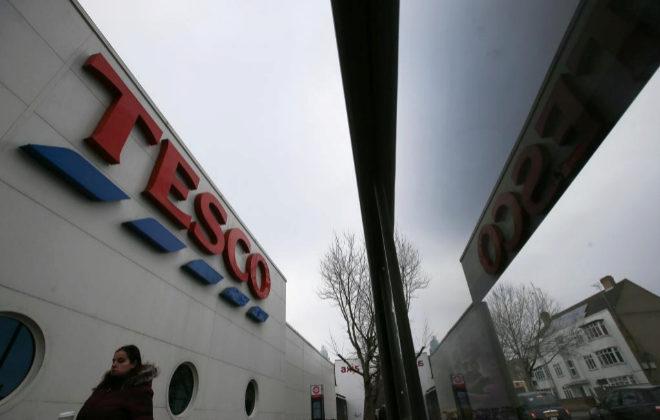 Uno de los supermercados de la cadena Tesco en Londres.