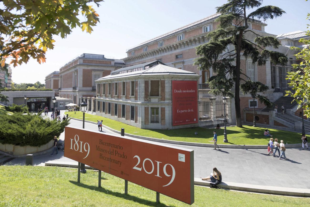 El edificio que hoy sirve de sede al Museo Nacional del...