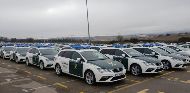 Flota de Seat León ST 2.0 TDI adquirida por la Guardia Civil