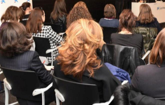Reunión de mujeres directivas en Valencia.
