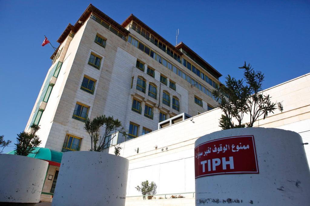 Sede de la TIPH (Presencia Internacional Temporal en Hebrón).