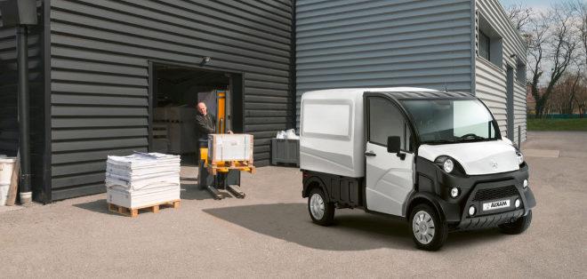Aixam e-Truck, un vehículo comercial 'sin carnet' y cero emisiones