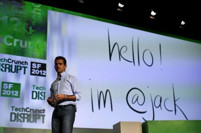 Jack Dorsey, consejero delegado de Twitter y Square.